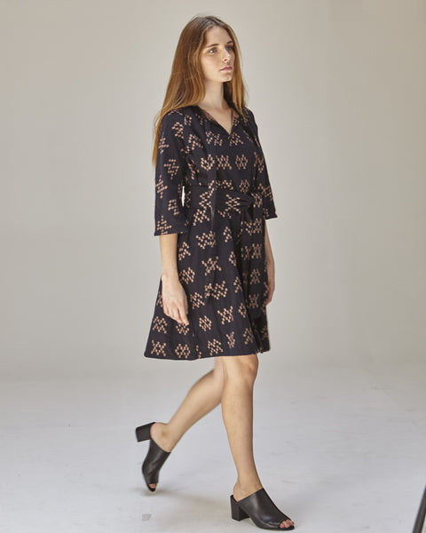 Beatrice Dress in Black Sampler - Founders & Followers - Ace & Jig - 2