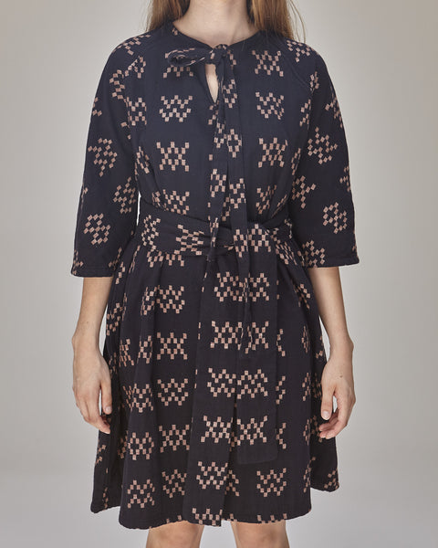 Beatrice Dress in Black Sampler - Founders & Followers - Ace & Jig - 6