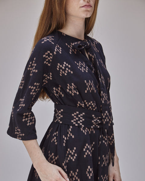 Beatrice Dress in Black Sampler - Founders & Followers - Ace & Jig - 8