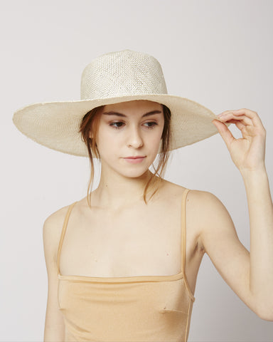 Optimo packable straw hat