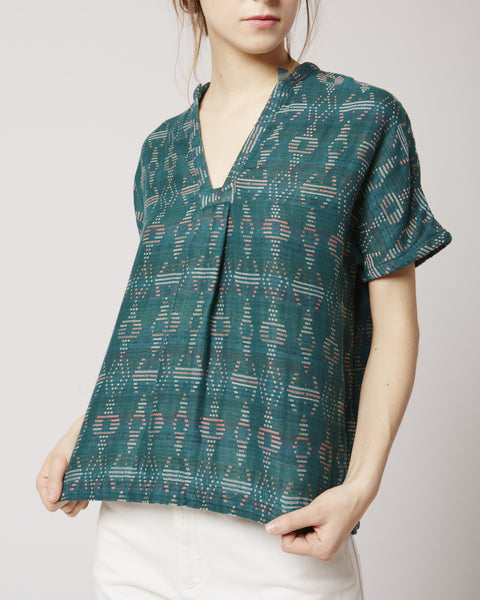 Atwood top in emerald