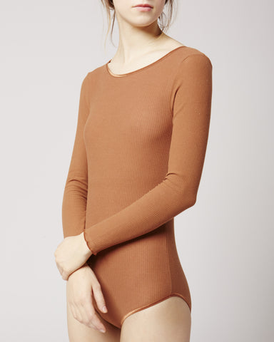 Grace Long Sleeve Body in Rib
