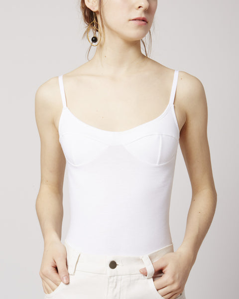 Body with Bra in Organic Cotton