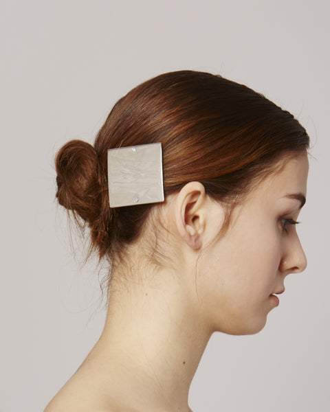 Hairclip HC03 in silver