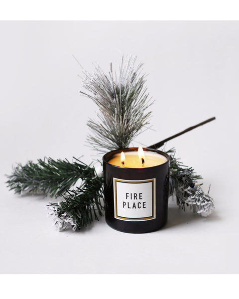 Fireplace Candle - Founders & Followers - Brooklyn Candle Studio - 4