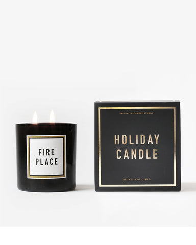 Fireplace Candle - Founders & Followers - Brooklyn Candle Studio - 1