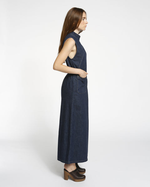 Badge jumpsuit in indigo - Founders & Followers - Rachel Comey - 2