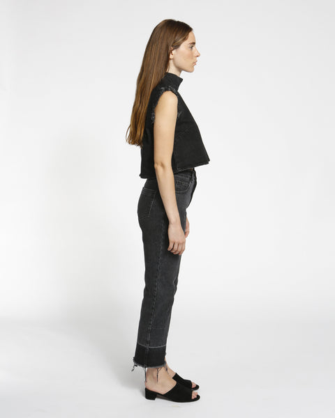 Slim Legion Denim Pant in black - Founders & Followers - Rachel Comey - 5