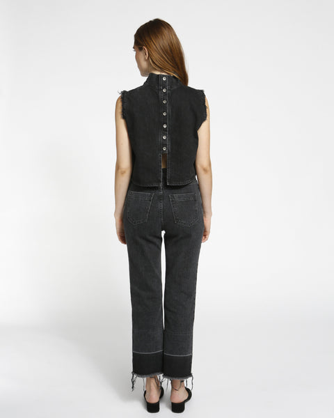 Slim Legion Denim Pant in black - Founders & Followers - Rachel Comey - 4