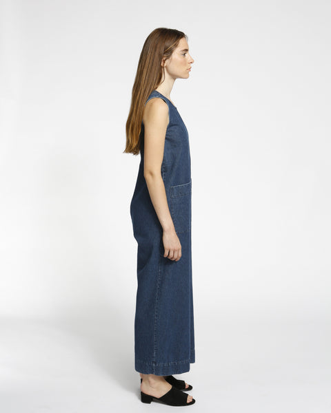 Harry Jumpsuit in Denim - Founders & Followers - Ilana Kohn - 2