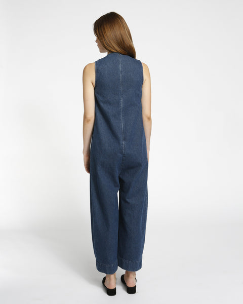 Harry Jumpsuit in Denim - Founders & Followers - Ilana Kohn - 3