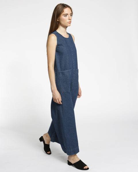 Harry Jumpsuit in Denim - Founders & Followers - Ilana Kohn - 4