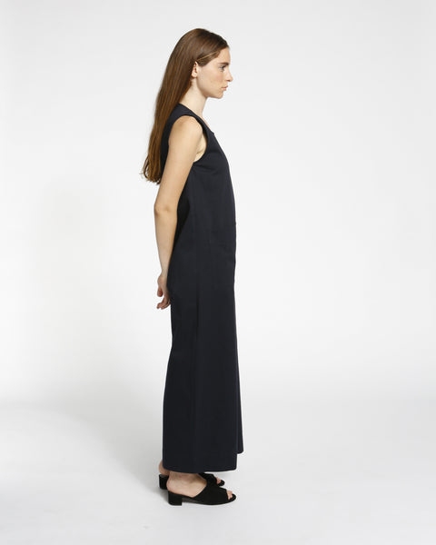 Harry Jumpsuit in Navy Twill - Founders & Followers - Ilana Kohn - 2