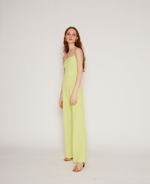 Ava jumpsuit in Light green