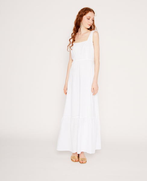 Laura dress in Off-white