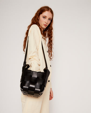 Leather cube carrier