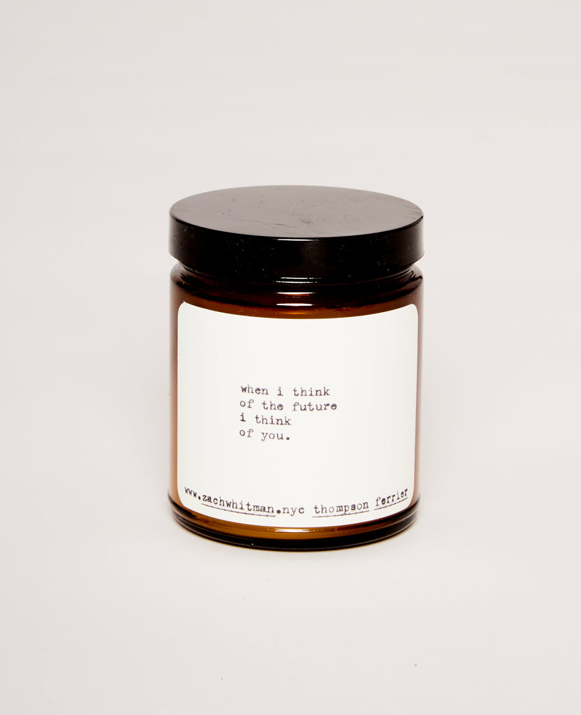 Future poem candle (Cassis Pomegranate)