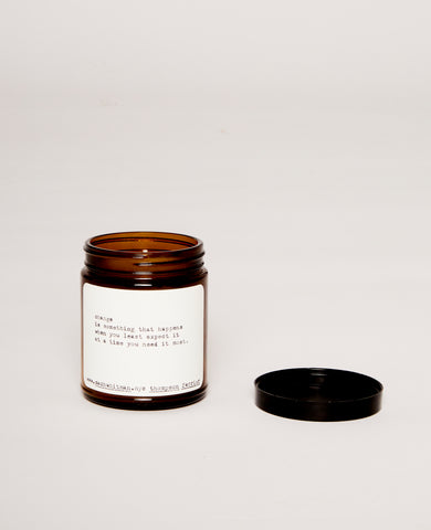 Change poem candle (Pine & Eucalyptus)