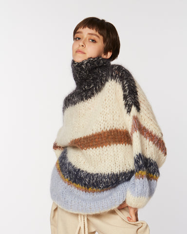 Mohair mammoth sweater
