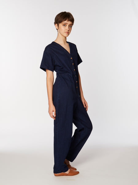 Dora coverall in denim