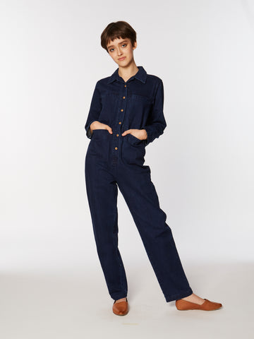 Tia coverall in Denim