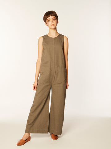 Harry jumpsuit in Peat