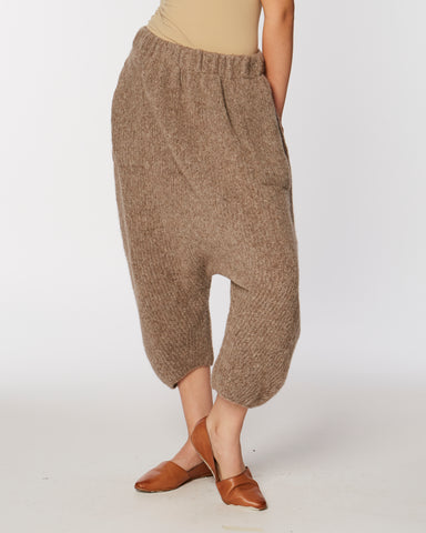 Kiko knit pants in deer