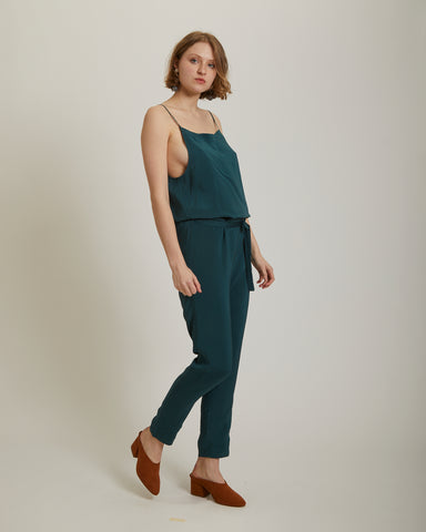 Blen jumpsuit in ocean