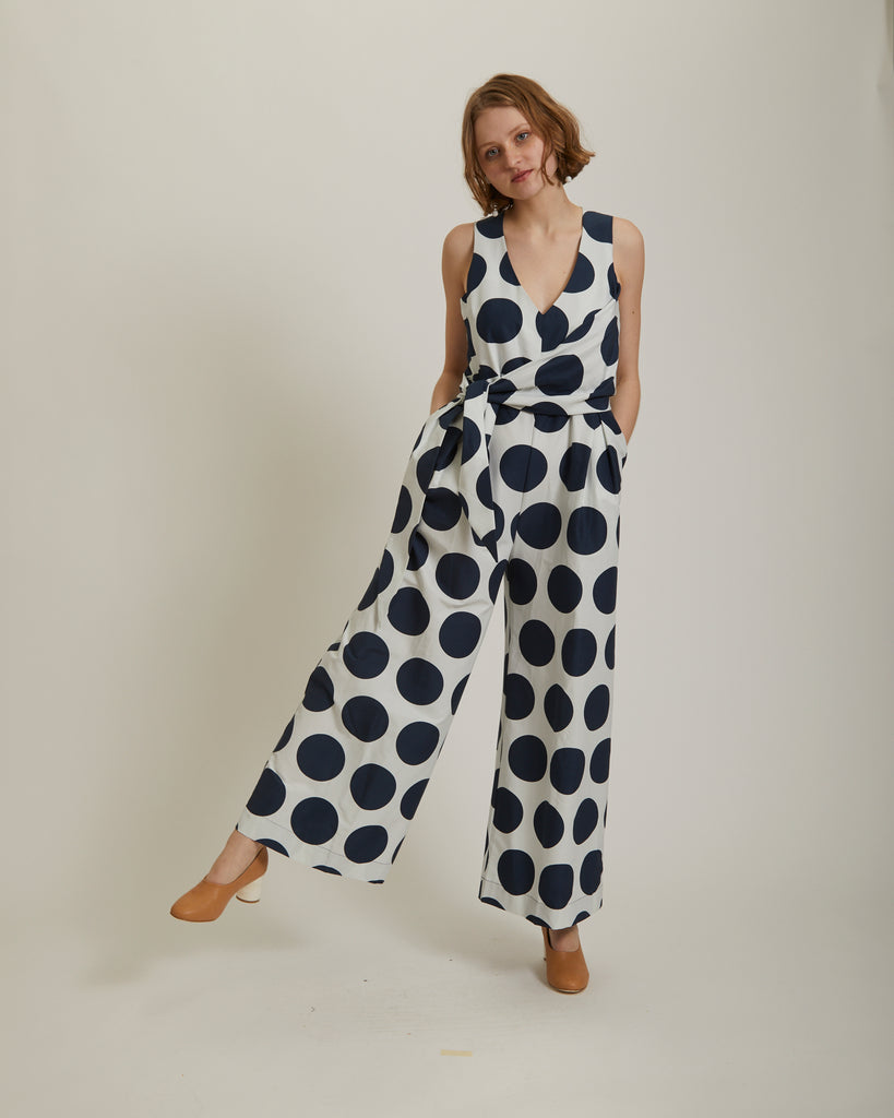 Noon silk Jumpsuit