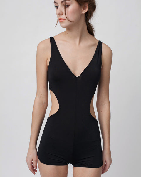 Hudson One Piece in Black - Founders & Followers - Estuaries - 5