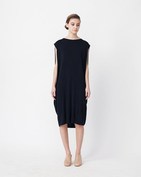 Cocoon Linen Sweater Dress - Founders & Followers - Achro - 1