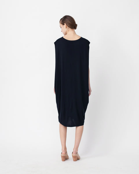 Cocoon Linen Sweater Dress - Founders & Followers - Achro - 3