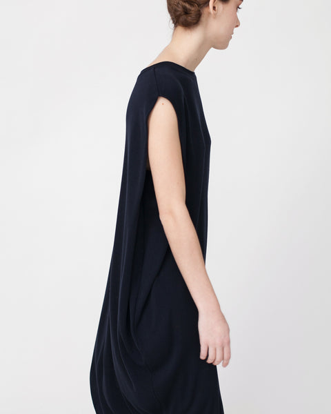 Cocoon Linen Sweater Dress - Founders & Followers - Achro - 6