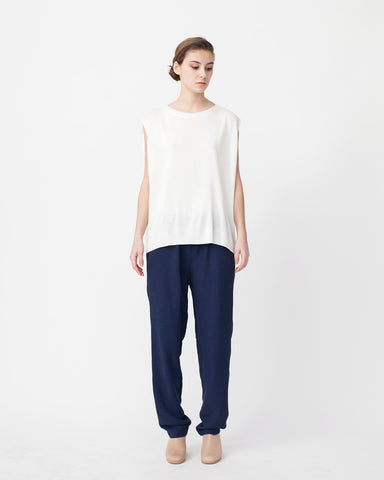 Linen Knit Top With Folded Sides - Founders & Followers - Achro - 1
