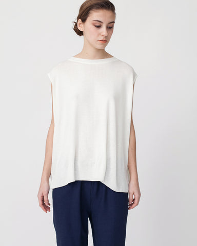 Linen Knit Top With Folded Sides - Founders & Followers - Achro - 4
