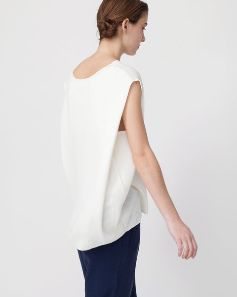 Linen Knit Top With Folded Sides - Founders & Followers - Achro - 5