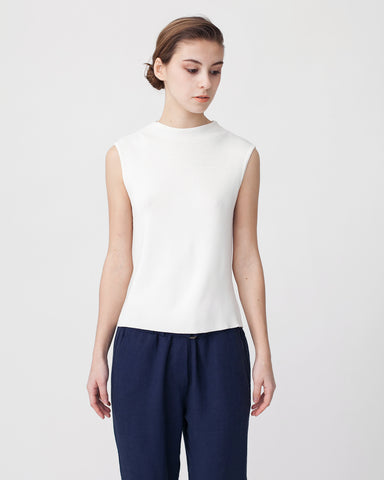 High Neck Sleeveless Knit Top - Founders & Followers - Achro - 1
