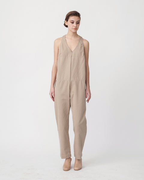 Buxton Jumpsuit in Sand - Founders & Followers - Rachel Comey - 1
