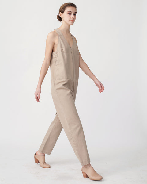 Buxton Jumpsuit in Sand - Founders & Followers - Rachel Comey - 4