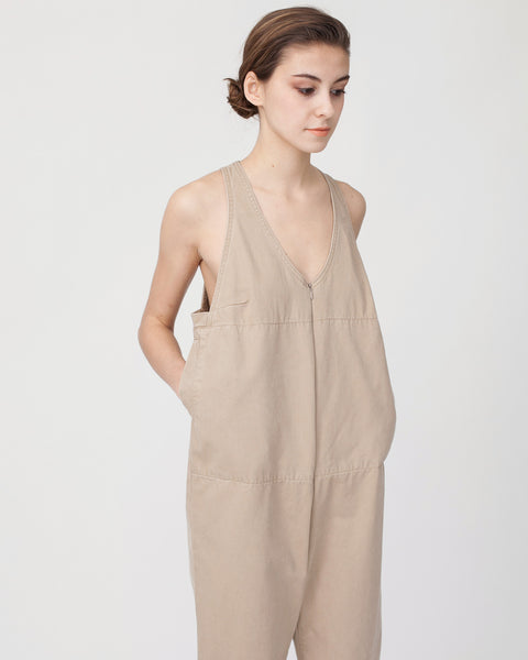 Buxton Jumpsuit in Sand - Founders & Followers - Rachel Comey - 6