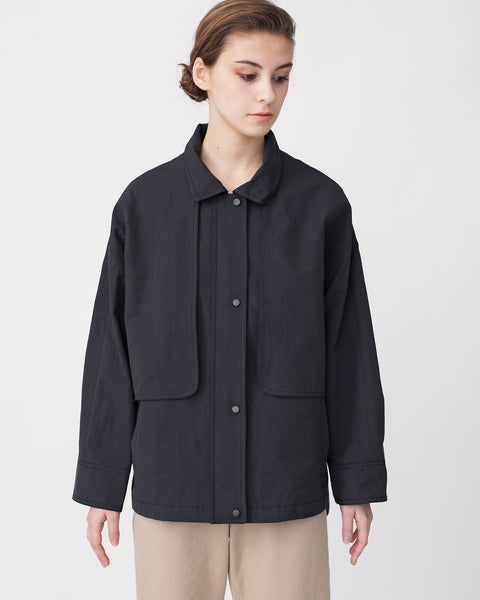 Oversized Cropped Trench Jacket - Founders & Followers - Achro - 1