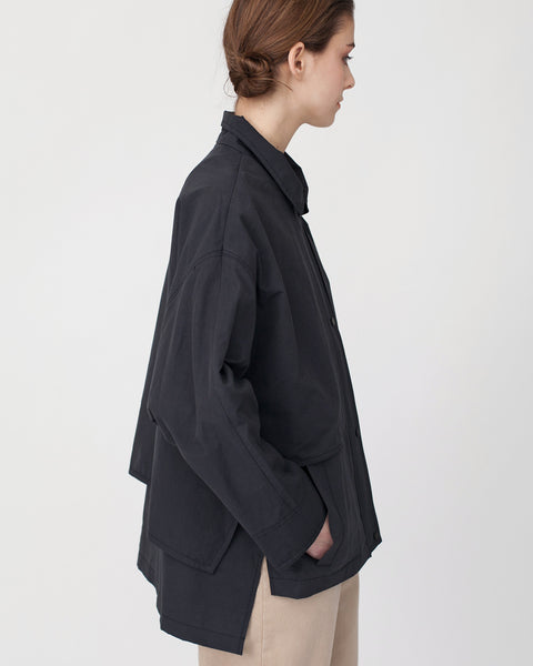 Oversized Cropped Trench Jacket - Founders & Followers - Achro - 6