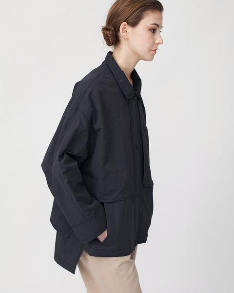 Oversized Cropped Trench Jacket - Founders & Followers - Achro - 7