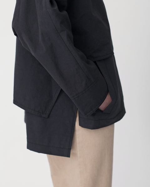 Oversized Cropped Trench Jacket - Founders & Followers - Achro - 8