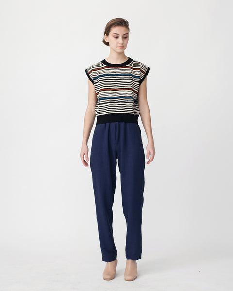 Cropped Knit Top - Founders & Followers - Rachel Comey - 2