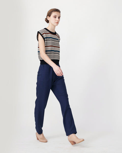Cropped Knit Top - Founders & Followers - Rachel Comey - 3