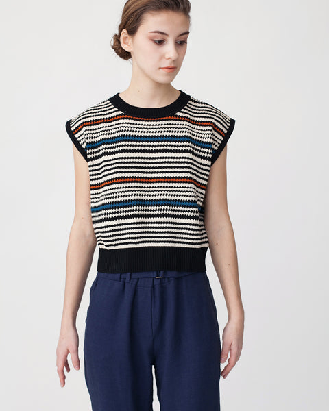 Cropped Knit Top - Founders & Followers - Rachel Comey - 1