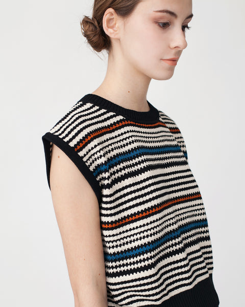 Cropped Knit Top - Founders & Followers - Rachel Comey - 4