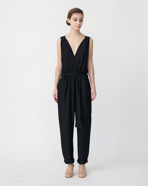 Victoire Jumpsuit in Black - Founders & Followers - Sessun - 1