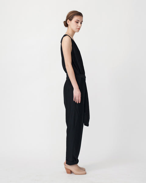 Victoire Jumpsuit in Black - Founders & Followers - Sessun - 2